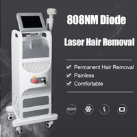 Wholesale permanent beauty machine for sale - Group buy Vertical nm Diode Laser Machine hair removal for women permanent hair removal nm beauty machine DHL CE