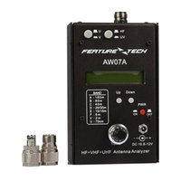 analyseur de main achat en gros de-Analyseur ntenna HAM Radio ondes courtes HF + UV talkie radio mains ensemble analyseur d'antenne multibande AW07A 1.5-490MHZ