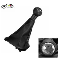 Wholesale gear shift boots resale online - 5 Speed Car Gear Shift Knob With Gaitor Boot Complete Fit For CC