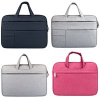 Wholesale apple macbook leather case for sale - Group buy 13 Inch Macbook Laptop Premium Pu Leather Case Carrying Bag For Apple Macbook Air Pro Retina Soft Sleeve Envelope Bag