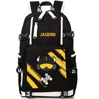 laptop arco-íris venda por atacado-Jagerbi mochila Rainbow 6 6 saco de escola Jager jogador mochila jogo laptop mochila Mochila Ao Ar Livre pacote de dia de Esporte