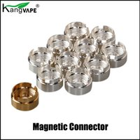 Wholesale connectors resale online - Kangvape Magnetic Connector thread Adapters Th420 Magnetic thread adapter ring for Thick Oil Cartridges fit TH TH710 MINI K box