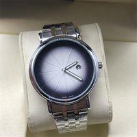 счастливые часы оптовых-2019 новый 3A автоматические кварцевые часы мужские часы водонепроницаемый мода простой календарь 316L точность стальной ремешок наручные часы счастливое колесо