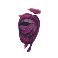 3d dövmeler geçici gövde çıkartmaları toptan satış-3D Korkunç Su Geçirmez Geçici Dövmeler Skar Dövme Çıkartma Vücut Sanatı Devredilebilir Sahte Dövme JIU55