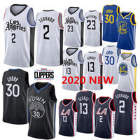 bordado baloncesto jersey curry al por mayor-NCAA Hombres Mujeres jóvenes Kawhi Leonard 2 camiseta de los hombres de Paul 13 Universidad George Stephen Curry 30 Jersey bordado baloncesto jerseys S-XXL