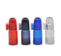 fabricants de bouteilles en plastique achat en gros de-Il est facile porter le matériel en plastique de vente de bouteille de tabac à priser du fabricant chaud acrylique de tabac à priser