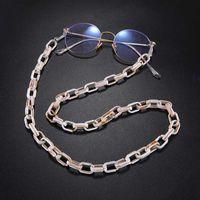 Wholesale sunglasses cord lanyards for sale - Group buy Teamer cm Acrylic Sunglasses Chain Women Fashion Eyeglass Reading Glasses Chains Eyewears Cord Holder Neck Strap Lanyard