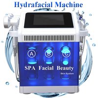 Wholesale needle free mesotherapy machine for sale - Group buy New hydra facial machine BIO face lifting diamond microdermabrasion machine rf needle free mesotherapy beauty device