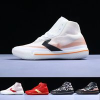 Wholesale sports insoles basketball resale online - 2020 New Conver Pro BB Translucent Mesh Woven REACT Technology Insole Black Silver Orange Men Sports Shoes Men Basketball Shoes