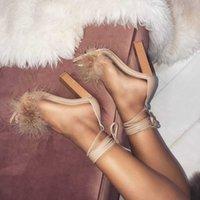 croix en bois de sandales achat en gros de-Bandage en poil de lapin Lucky2019 en grain grossier avec des sandales 40
