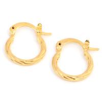 brincos lineares venda por atacado-Brincos lineares clássicos brincos de jóias de ouro de dubai brincos de metal de ouro amarelo