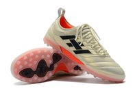 tacos de fútbol rosa al por mayor-Calientes 2019 zapatos para hombre de fútbol Copa 70Y FG / TF / IC zapatos de fútbol indoor botas de fútbol Copa Mundial rosa scarpe Calcio