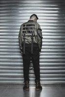 askeri bomba ceketi siyah toptan satış-YENI siyah sokak Hiphop Askeri Giyim Ceket ABD Ordusu MA1 BOMBER Ceketler Erkekler Kış Sıcak Motosiklet Epaulet Coat