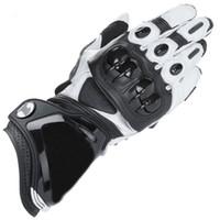 gants pour moto achat en gros de-GP PRO Moto Gants Moto GP-1 Racing Team Gants De Conduite De Moto En Cuir Véritable Moto Gants En Vachette Livraison Gratuite