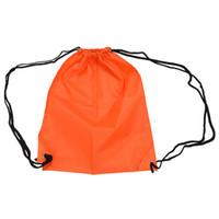 laranja esportes mochilas venda por atacado-Escola cordão livro saco esporte ginásio nadar pe sapato de dança mochila laranja