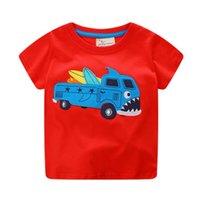 kleines mädchen sommert-shirt großhandel-Kinder Kleidung Sommer Kurzarm Cartoon Niedlich T-shirt Tops Tees Mode T-shirt für Kleine jungen Mädchen