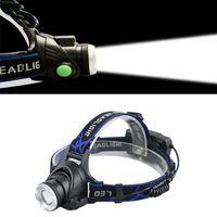 Wholesale t6 headlight resale online - Super Bright CREE XML T6 Q5 lighting Rechargeable Waterproof Camping Hunting Headlamp Headlight Head Torch Lamp