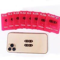 iphone 4s tarjeta desbloqueada al por mayor-Cor de doble doble tarjeta de CPU iOS13 desbloqueo sistema universal R-SIM 15 para todos los iPhone AUTO-R desbloqueo SIM15 4G LTE IOS13 envío