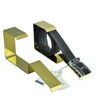 ingrosso stand di esposizione per la vendita al dettaglio-Espositori per cinture in metallo, espositori per cinture in vendita al dettaglio, supporti per cinturini per cinture per cinture