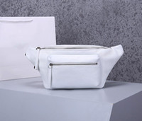 Wholesale real leather belts women for sale - Group buy designer bags BA purse waist bag fanny pack BAL designer handbags belt bag real leather litchi pattern luxury purse bag