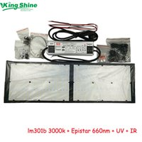 Wholesale epistar grow lights resale online - Pre assembled W quantum boards HLG QB288 Samsung lm301b quantum board k Epistar nm UV IR led grow light