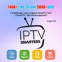 iptv sportkanäle großhandel-IPTV-Abonnement 50+ Länder IPTV-Kanal-Unterstützung Android APK Smart TV IOS M3U Kanada Frankreich Arabisch Europa Sport für TV-BOX