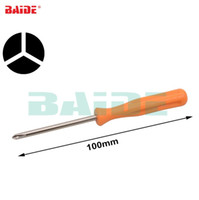 Wholesale screwdrivers open laptops resale online - Orange Y mm mm mm Tri Wing Y1 Screwdriver Tri point for Wii DS Lite DS Repair Opening Tool for Laptop Battery