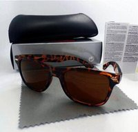 Wholesale western style frames for sale - Group buy Best Quality brand Plank Sunglasses for women men western style classic square UV400 mens black big angle frame G15 sun glasses with