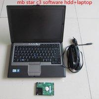 testadores estrela mb venda por atacado-Últimas mb estrela c3 hdd com d630 PC de Alta Qualidade MB Diagnostic Multiplexer Tester Estrela C3 software 160 GB HDD 2014.12 versão