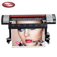 Wholesale inkjet print heads for sale - Group buy 1 m ft Flex Banner Printing Machine single DX5 print head m eco solvent printer