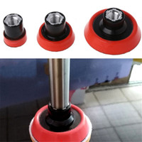 Wholesale polished car resale online - 3 Size Polisher Backing Plate Spindle Extender For Car Polishing