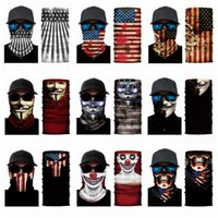 magische haarbänder großhandel-79 Styles Bandanas Schal Multifunktionale Outdoor Radsport Masken Schal Magie Turban Sonnenschutz Haar-Band-25 * 50cm Reitstirnband CYZ1333