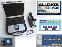 abridor de trava múltipla venda por atacado-2018 venda quente alldata e mitchell 2015 V10.53 alldata reparação soft-ware e ATSG e P-anasonic Toughbook CF30 CF-30 Laptop frete grátis