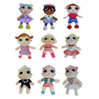 Wholesale video games for girls online - LOL Inch Plush doll Styles Cute Girl Plush Doll Soft Cute Soft Stuffed Animals Plush gifts For Kids
