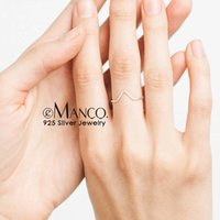 Wholesale silver rings for women prices resale online - e Manco Simple Sterling Silver Rings For Women Minimalist Crown Finger Rings Fine Jewelry Price Girl Gifts Y200323