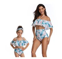 Wholesale manufacturers clothes resale online - Women Clothes Two Piece Sets New Sexy Fashion Designer Swimsuit Printing High Waist Bikini Manufacturers Swimwear Spot A Gift