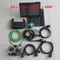 Wholesale c4 sd hdd for sale - Group buy 2019 mb star c4 sd connect with laptop x200t touch screen tablet diagnostic PC mb star c4 multiplexer with soft ware HDD V2019