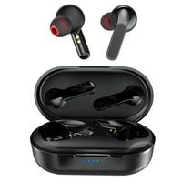 auriculares mini inalámbrico móvil al por mayor-TWS True Wireless Mini Deportes A Prueba de agua Manos Libres Estéreo Magnético Móvil en el Oído Bluetooth Auricular Auricular Auricular Auricular