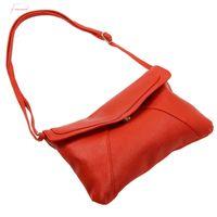 Wholesale red envelopes resale online - New Fashion Womens Envelope Bag Leather Messenger Bags Handbag Shoulder Crossbody Cross Body Bags Purses Satchels Bolsas Red