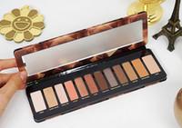 12 palette nackt großhandel-Schnell verkaufend !! 2019 Neueste Make-up Lidschatten-Palette 12 Farben Naked Hochwertige multi Perlglanz Lidschatten-Palette mit schnellem Versand