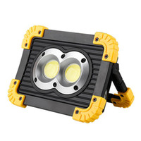 led el feneri kitleri toptan satış-LED COB 20 W Mobil Güç Bankası El Feneri USB Şarj Edilebilir Kamp Çadır Işık Açık Su Geçirmez Acil Survival Işık Yardım Kiti