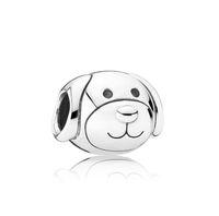 chamilia jewelry großhandel-Hund Große Loch Lose Perlen chamilia perlen mode-accessoires charme Pandora DIY Schmuck Armband Europäische Armband Halskette Freies verschiffen