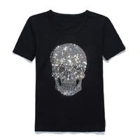 t shirts japan achat en gros de-Mastermind Japan - T-shirt en coton à manches courtes avec t-shirt à col rond