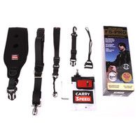 Wholesale quick rapid camera strap online - Freeshipping Professional Carry Speed Camera Sling Strap Rapid Quick For DSLR Digital SLR Camera Fuji Pentax Samsung Canon Nikon For GoPro