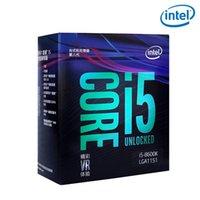 45nm cpus großhandel-Intel PC Computer Core i5 8 Prozessor der Serie I5 8600K I5-8600K Prozessor-Box LGA 1151-land FC-LGA 14 Nanometer Sechs Core