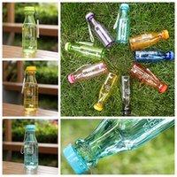 ingrosso bottiglia per il ciclismo-Bottiglia da 550 ml Top Grand Bottiglia da 550 ml Bpa gratuita Bicicletta da ciclismo Sport Bottiglia da acqua in plastica infrangibile ZZA938