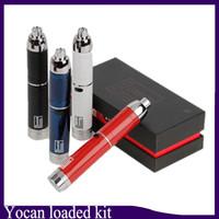 beliebte vape pens groihandel-Loaded Kit Wax Vaporizer 1400mAh Konzentrat Vape Pen Starter Kit Beliebte Tupfer mit verlängertem Mundstück 0266114-1