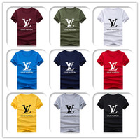 Wholesale hip hop basketball t shirt online – design Fashion Men s Summer Brand Designer T shirt Short sleeve O Neck basketball Sport Tide Clothing Tshirt Hip Hop Harajuku T shirt Size S XL