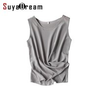 a013aad10096b3 green silk tank top UK - Women Silk Tank Tops 100% Natural Silk Shirt  Sleeveless