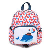 детские рюкзаки оптовых-2019 Kids Girls Boys Cute Cartoon Animal Backpack Toddler Anti-lost Kindergarten School Bag Preschool Nursery School Travel Bag